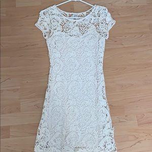 LC Lauren Conrad Coachella Sunrise Lace Dress